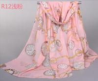 Wholesale Digital Printed Silk Chiffon Fabric - Whosale 2015 fashion chiffon fabric digital print silk scarf