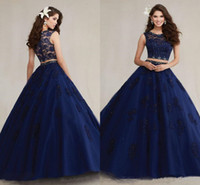 Two color quinceanera dresses