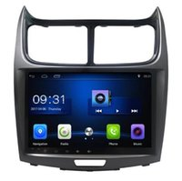 Wholesale Gps Sailing - 4-Core Android 6.0 9inch Car Dvd Gps Navi Audio for Chevrolet Sail 2013 steering wheel control support wifi DVR camera 3G