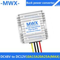 Wholesale Dc Converter 12v 48v - 48V to 12V,DC DC buck converter,48V step-down 12V module,waterproof Car Power Converter,48v turn 12V,30V-60V to 12V,Manufacturers wholesale