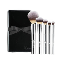 Wholesale Metal Hair - Brand Makeup Brushes it cosmetics for ulta your beautiful basics airbrush 101 5 pcs face and eye getting started brush set.