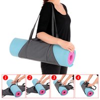 2017 Yoga Mat Carrier Exercício Yoga Mat Bag com bolsos de armazenamento multifuncional Um Smart Portable Tough Exercising Balance Cushion