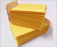 Wholesale Air Envelope - Golden Kraft Bubble Mailers Padded Envelopes Air Bags 50pcs 4.3*5.1 inch 110*130mm