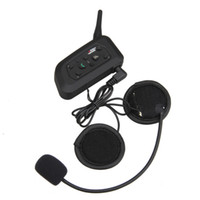 V6 BT Multi Interphone Bluetooth Interphone Casque sans fil moto Casque casque 1200M Casque 6 Riders Accessoires moto