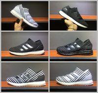 Wholesale Tango Media - 2017 Nemeziz 17+Tango 360 Agility TR Ultraboost Running Shoes Men Women Ultra Boost Run Fashion NMD R2 City Socks Sneakers 36-45