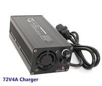 4a batterieladegerät großhandel-72V4A Ladegerät 73V Blei-Säure-Akku Smart Charger 360W High Power 88,2V 4A Ladegerät Globale Zertifizierung