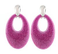 ingrosso utilizzando la resina-Orecchini di vendita calda di Sehuoran orecchini pendenti grandi ovali brincos per donna Orecchini pendenti in resina di rame Usi multipli