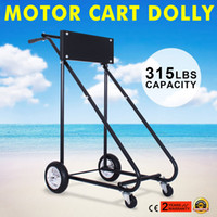 Stainless Steel outboard motor tools - 140KG OUTBOARD MOTOR STAND TROLLY LBS Outboard Boat Motor Stand Carrier Cart Dolly Storage Pro Heavy Duty New