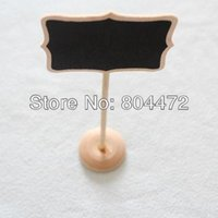 1000x free shipping mini chalkboards blackboard on stick place holder table number for wedding party christmas decorations