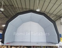 Wholesale Inflatable Stage Cover - Free shipping 6x4m inflatable stage tent inflatable exhibition cover inflatable display marquee