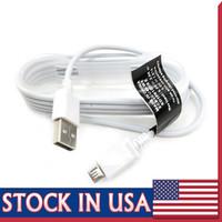 ingrosso filo per s4-Cavo Cavi di carica Micro USB V8 di alta qualità da 1,5 M Cavo di ricarica dati USB per NOTE3 NOTE 4 S5 S4 S6