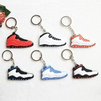 a1ca33e91513 jordans jordan 7 retro shoes keychains keyring key holder souvenirs porta  chaves boys rings