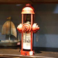 types de saxophone achat en gros de-1 Mini modèle de casier à vin pour fer à bouteille, modèle d'extincteur, type saxophone, casier à vin rouge HG