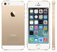 "Wholesale Iphone Screens Sale - Free DHL Origina screen Unlocked Apple iphone 5s LTE Smartphone 4.0"" 1GB RAM 64GB ROM 8MP 1136*640 IOS Multi language Time-Limited Sale"