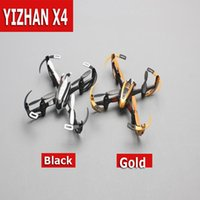 Wholesale Fly 3d Model - Yizhan Golden X4 4CH 6 Axis Radio Control Quadcopter UFO 3D Flying rc helicopter 2.4G Transmitter with LCD Display toy gift