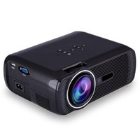 Wholesale Portable Analog Tv Usb - Portable BL-80 Projector 1000 Lumens Support 1920x1080P Analog TV LED Projector MINI Projector for Home Cinema Digital TV