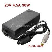 Wholesale R61 Battery - Newest Replacement AC Adapter 20V 4.5A 90W Power Supply Battery Charger for IBM For Lenovo for Thinkpad X61 T61 R61 92P 40Y