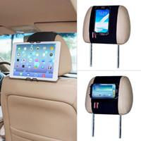 mini tableta al por mayor-Soporte universal de TFY Universal Smartphone Tablet PC Coche reposacabezas - iPad Mini 4 iPhone 5/5 (s) iPhone 6/7 (Plus) - Samsung Galaxy Tab