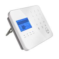 detectores de movimiento a distancia al por mayor-sistema de seguridad doméstica digital mejor clasificado del control remoto inalámbrico de los hogares alarma del detector de movimiento con el telclado numérico de la aplicación del teléfono SMS