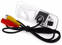 kia ters kamera toptan satış-Yüksek Kalite Araba Dikiz Kamera Akıllı Lens Su Geçirmez 170 Derece Geniş Görüş Açısı Kia K2 RIO için Ters Yedekleme Monitör