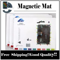 Wholesale Apple Keeper - 1pcs Magnetic Mat Screw Keeper Chart Professional Guide Pad for iPhone   7 plus 6s 6 plus 5 5s 5c 4s 4