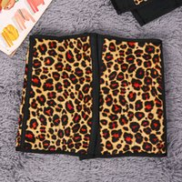 Wholesale Leopard Buttons Wholesale - Hot! Waistband Women Leopard Rubber Waist Trainer Cincher Underbust Corset Waist Belt