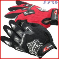 Wholesale Glove Bicycling - 2014 New Bike Bicycle Gloves Men's Full Finger Cycling Biking Gloves Luvas six colors glove silicone
