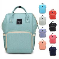 Wholesale Mother Diaper Handbags - Mommy Diaper Bags Nappies Maternity Backpacks Brand Desinger Backpack Fashion Mother Handbags Outdoor Nursing Travel Bags Organizer B2666