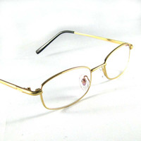 Wholesale Golden Great - Reading Glasses Eyeglasses Frames Eyewear Fashion Golden Presbyopia hyperopia Long Distance Vision Rx Optical 0.50 0.75 1.00 1.25 1.50 1.75