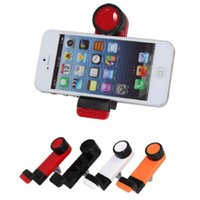 Wholesale Holder Car Telephone - Wholesale-New universal 360 Rotating air vent mount stand cradle support telephone mobile car phone holder case for iphone Samsung
