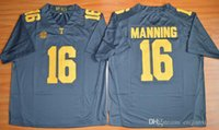 Al por mayor Hot New Style 2015 Peyton Manning 16 Limited Fútbol Fútbol Jersey, Cheap Tennessee Voluntarios Jersey tamaño gris S-XXXL