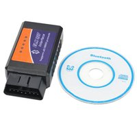 Wholesale Elm Scan Tools 327 - Wholesale-ELM327 Bluetooth OBD2   OBDII Auto Diagnostic Scanner Tool ELM 327 Bluetooth interface scan Tool for smart phone PC hot selling