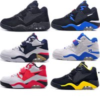 Wholesale Air Forces Shoes - Brand Basketball shoes Men's Sneakers Shoes 34'' 23'' Air Force Buckley 180 41-47 Size wear resistant skidproof for