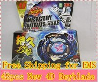 Wholesale Beyblade Metal Fusion Pack - Wholesale-48pcs EMS NEW Beyblade Metal Fusion Fight 4D & 2 Starter Pack TAKARA TOMY SONOKONG