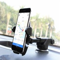 Wholesale Universal Adjustable - Universal Mobile Car Phone Holder 360 Degree Adjustable Window Windshield Dashboard Holder Stand For All Cellphone GPS Holders