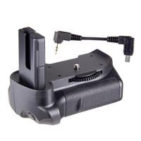 Wholesale Battery El14 - Travor BG-2G Vertical Battery Grip Box Case Grips MB-D10 for EL14 Nikon D5300 D5200 D5100 Adapter Hot Worldwide