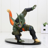 14cm Banpresto Scultures Dragon Ball Z Cell Figurines d'action en PVC Figurines Collectibles Modèle Figuras DBZ