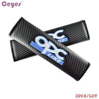 Wholesale Opc Drum Wholesale - Car Safety Belt Cover Carbon Fiber Shoulder Pads for Opel OPC drum kyocera 85a xerox ingignia Seat Belt Cover Car Styling 2pcs lot