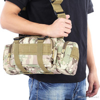 Wholesale Military Water Pack - Tactical Camping Hiking Bike Climbing Sport Military Army Travel Waist Pack Hand Carry Pouch Shoulder Bag Tactical Bags Hot +B