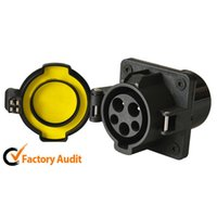Wholesale Electric Socket Protection - American Standard AC Charging Socket Top Quality Safety Environmental Protection AC Socket Inlet 16A 32A for Electric Car GNED021