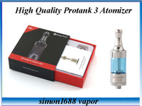 Wholesale Ego T Kanger Coils - Kanger Protank 3 Atomizer Set Package Dual Coil Protank3 Atomizer Pyrex Glass for Ego-T Ego vision spinner 2