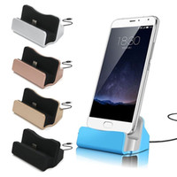 Wholesale Phone Charger Docking Station - Universal Micro Type C Dock Charging stand Cradle Charging Station for samsung galaxy s4 s6 s7 s8 htc android phone