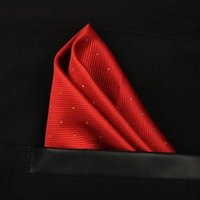 Wholesale Ascot Plain Colors - 20 colors Luxury Pocket handkerchief 25*25 silk kerchief tie gentleman business suit cravats for banquet party Christmas gift 210048