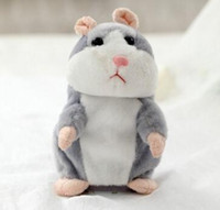 Wholesale Recording Parrot - Learn to speak the hamsters recording parrot vibration plush toys children's birthday gift to NOD