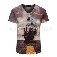Wholesale Advertisement Printing - 2016 Explosion Men's 3 D Printing Short Sleeve Man T Pity Advertisement Upper Garment Culture Unlined Upp T-shirt Fashion