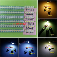 Wholesale 10PCS W SMD CHIP High Power LED warm white neutral white cool white k K K K k K LED Beads Lamp