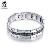 Wholesale Grade Wholesale Stainless Steel Jewelry - Top Grade Stainless Steel Men's Bracelet Charming Fashion Jewelry For Men&Boy Gift 20.5 CM GTB10