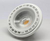 spot lumineux lumière ampoule verte achat en gros de-Dimmable AR111 15W COB LED Spotlight ES111 QR111 GU10 LED G53 intérieur Down Light AC85-265V / AC110V / AC220V / AC230V
