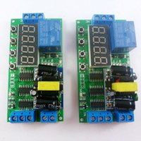 Wholesale Timed Relay Switch - 2pcs AC 85V-260V 110V 220V Cycle Time Timer Switch Delay Relay ON OFF for LED Smart Home PLC Light security monitor