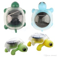 Wholesale Solar Energy Mini Tortoise Toy - Mini Solar Powered Energy Cute Turtle Tortoise Gadget Gift Educational Toy For Kids - Color Random
